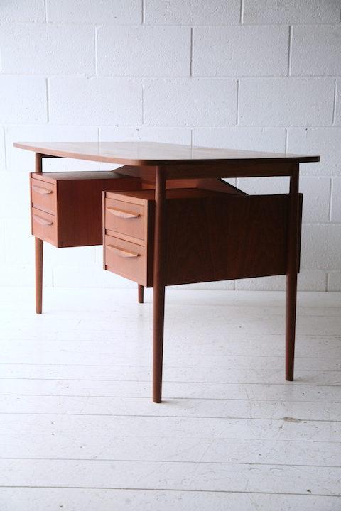 Vintage Danish 1970s Desk by G. Tibergaard 2