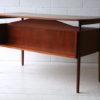 Vintage Danish 1970s Desk by G. Tibergaard 7
