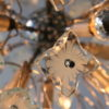 1960s Glass Chandelier 1