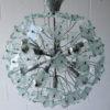 1960s Glass Chandelier 2