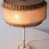 1960s Wicker Table Lamp