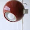 1970s Brown Eyeball Floor Lamp