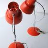 Pair of 1960s Orange Desk Lamps 1