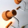 Pair of 1960s Orange Lamps 3
