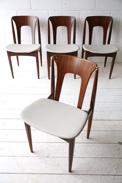 Vintage 1960s Dining Chairs By Elliots of Newbury