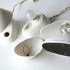 White Bakelite Czechoslovakian Lamps 1
