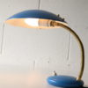1950s Blue Desk Lamp 1