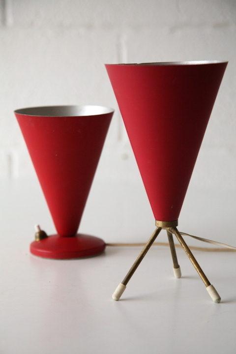 1950s Small Italian Lamps