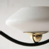 Vintage 1950s French Lunel Ceiling Light 6
