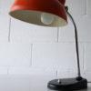 Vintage 1950s Orange Desk Lamp 2