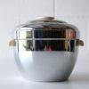 Vintage Art Deco Chrome Thermos Ice Bucket 1
