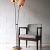 1950s Brass Double Floor Lamp 1
