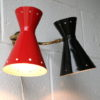 1950s Diablo Wall Light