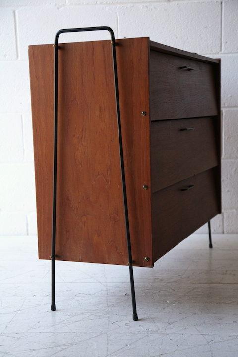 1960s Teak Shoe Cabinet 3