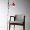 1970s Double Red Floor Lamp 1