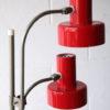 1970s Double Red Floor Lamp 2