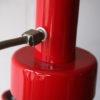 1970s Double Red Floor Lamp 3