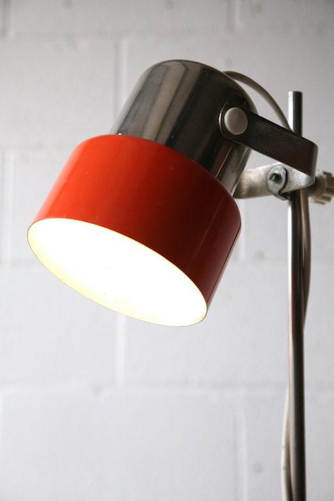 1970s Orange Floor Lamp 4