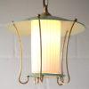 Green 1950s Lantern Ceiling Light