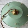 Green 1950s Lantern Ceiling Light 3