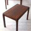 Pair of Rosewood Coffee Tables by Bruksbo Norway