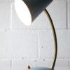 Small Blue 1950s Italian Lamp 4