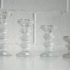 Vintage Glass Candlesticks by Timo Sarpaneva for Iittala
