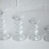Vintage Glass Candlesticks by Timo Sarpaneva for Iittala 2