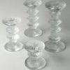 Vintage Glass Candlesticks by Timo Sarpaneva for Iittala 3