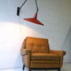 Vintage 1950s Wall Light by Wim Rietveld 4