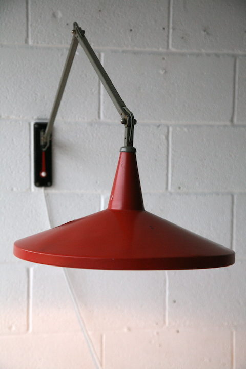 Vintage 1950s Wall Light by Wim Rietveld