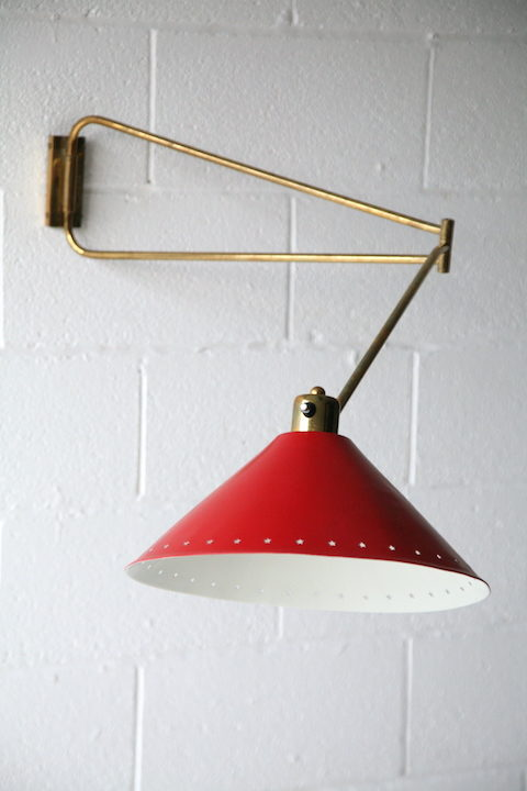 1950s Wall Light by Rene Mathieu for Lunel France 7