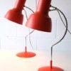 1960s Orange Desk Lamps by Josef Hurka for Napako