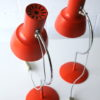 1960s Orange Desk Lamps by Josef Hurka for Napako 2