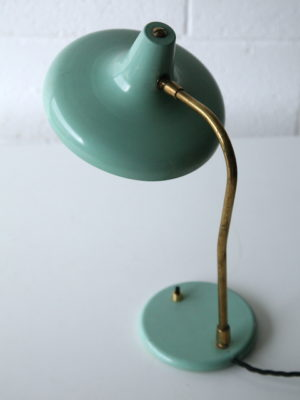 Green 1950s Desk Lamp