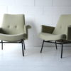 Pair of 1950s SK660 Armchairs by Pierre Guariche 4