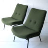 Pair of 1950s SK660 Chairs by Pierre Guariche 2