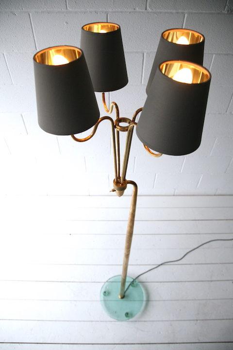 Rare 1950s Floor Lamp by Pietro Chiesa for Fontana Arte
