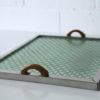 Vintage Art Deco Metal Tray 1