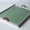 Vintage Art Deco Metal Tray 3