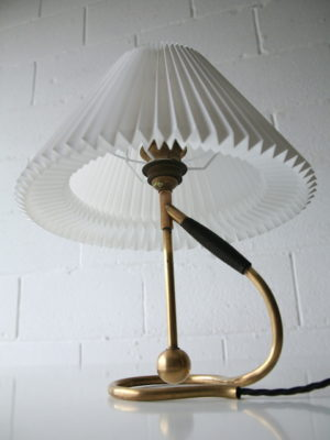 Vintage Brass Le Klint 306 Table Wall Lamp 4