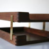 Vintage Teak Filing Trays 5