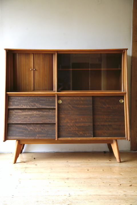 1950s Cabinet By F D Welters Cream And Chrome