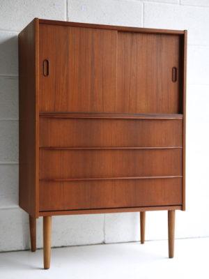 1960s Teak Cabinet Drawers