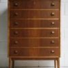 1960s Walnut Chest of Drawers