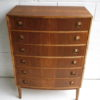 1960s Walnut Chest of Drawers 5