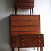 Small 1960s Teak Chest of Drawers