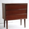 Small 1960s Teak Chest of Drawers 2