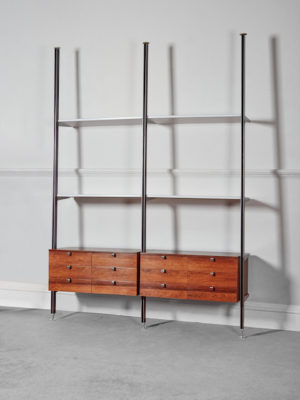 George Nelson CSS Rosewood Shelving 1