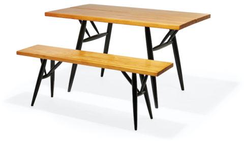 Tapiovaara Dining Table & Bench